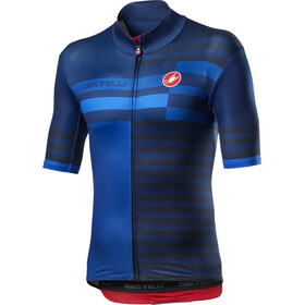 Castelli Mid Weight Pro Maillot manches courtes Homme, savile blue
